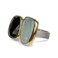 Skipping Stones Ring by Ann Chikahisa (Silver & Stone Ring)
