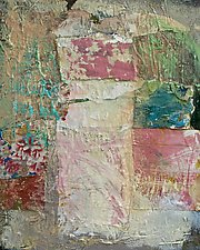 Attic Memories by Maren Larson (Mixed-Media Painting)