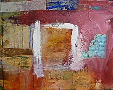 Noteworthy Window by Maren Larson (Mixed-Media Painting)