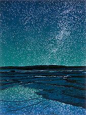 Island Universe by William Hays (Linocut Print)