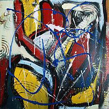 Piksa 5 by Jerry Hardesty (Acrylic Painting)
