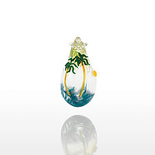 Trade Winds by Lucky Ducks Glass (Art Glass Ornament)