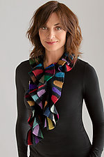 Royal Scarf by Kristin Gereau (Silk & Wool Scarf)