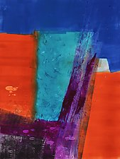 Luminous Series 1 by Sandra Humphries (Monotype Print)