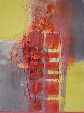 Sun Shift 1 by Sandra Humphries (Monotype Print)