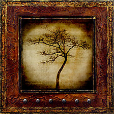 Soul Tree by Yuko Ishii (Mixed-Media Wall Art)