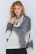 Oversized Shirt & Scarf by Andrea Geer (Woven Shirt)