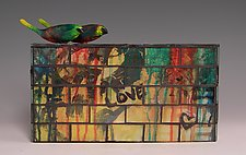 Like Attracts Like by Patty Carmody Smith (Mixed-Media Sculpture)