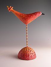 Bloomin' by Patty Carmody Smith (Mixed-Media Sculpture)