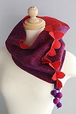 Woodland Infinity Scarf by Mila Sherrer  (Wool Scarf)