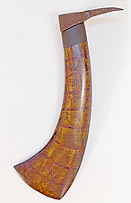 Pick II by Ken  Edwards (Wood Wall Sculpture)