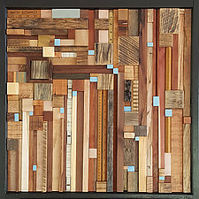 Difference is the Delusion by Heather Patterson (Wood Wall Sculpture)