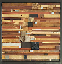 In the Shadow of Ghosts by Heather Patterson (Wood Wall Sculpture)