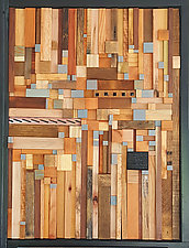 Miles to Go Before I Sleep by Heather Patterson (WoodWall Sculpture)