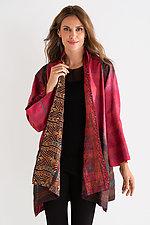 A-Line Silk Jacket by Mieko Mintz (Silk Kantha Jacket)