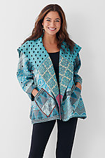 Flare Jacket #1 by Mieko Mintz  (One Size (2-14), Cotton Jacket)