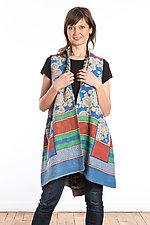 A-Line Vest #4 by Mieko Mintz  (Size 2 (14-18), Cotton Vest)