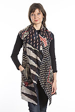 Kantha Patchwork Vest by Mieko Mintz (Cotton Vest)