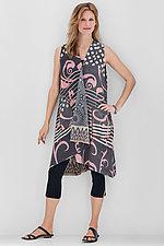 Wrap Dress #1 by Mieko Mintz  (Size Medium (6-10), Cotton Dress)