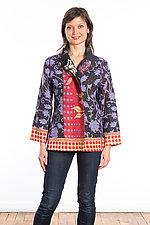 Short Jacket #7 by Mieko Mintz  (Size Large (10-14), Cotton Jacket)
