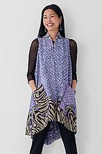A-Line Vest #1 by Mieko Mintz  (Size 1 (2-12), Cotton Vest)