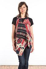 Drape Collar Vest #3 by Mieko Mintz  (One Size (2-12), Cotton Vest)