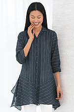 Amelie Striped Shirt by Spirithouse  (Woven Shirt)