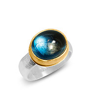 Moonlit Night by Nancy Troske (Gold, Silver & Stone Ring)