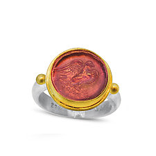 Roma Griffin Intaglio Ring by Nancy Troske (Jewelry Rings)