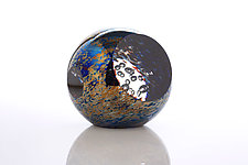 Moonlight Orbit by Benjamin Silver (Art Glass Paperweight)