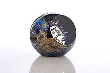 Moonlight Orbit by Benjamin Silver (Art Glass Paperweight)