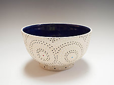 Thrown Circle Bowl by Vaughan Nelson (Ceramic Bowl)