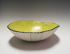 Stripe Bio Bowl by Vaughan Nelson (Ceramic Bowl)