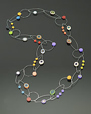 Dots Necklace by Arden Bardol (Polymer Clay Necklace)