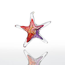 Wish Upon a Star by Luke Adams Glass (Art Glass Ornament)