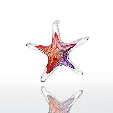 Wish Upon a Star by Luke Adams Glass (Art Glass Ornament)