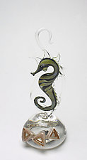Angles by Jennifer Caldwell and Jason Chakravarty (Art Glass Sculpture)