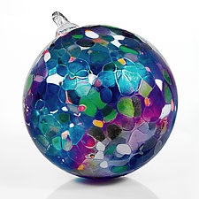 Star Light, Star Bright by Art of Fire (Art Glass Ornament)