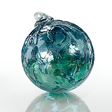 Blue Lagoon by Elias Studios (Art Glass Ornament)