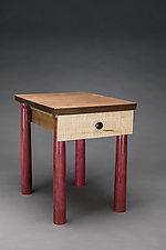 Bedside Table 2018 by Todd  Bradlee (Furniture Side & Pedestal Tables)