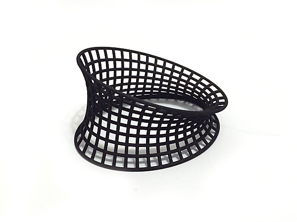 Bent Grid Bangle