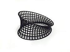 Bent Grid Bangle by Maria  Eife (Nylon Bracelet)