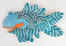 Marvelous Millie by Byron Williamson (Ceramic Wall Sculpture)