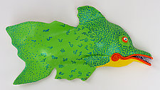 Lime Dazzler by Byron Williamson (Ceramic Wall Sculpture)