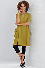 Vienna Travel Dress by Comfy USA  (Knit Dress)