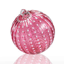 Pleased as Punch by Eben Horton (Art Glass Ornament)