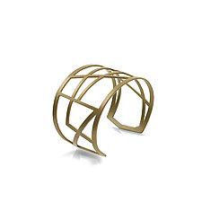 Web Cuff by Melissa Stiles (Steel Bracelet)