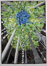 Dappled Light by Linda Beach (Fiber Wall Hanging)