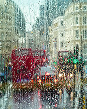 Picadilly Circus by Melinda Moore (Color Photograph)