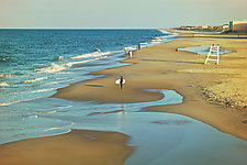 Beach Life by Melinda Moore (Color Photograph)